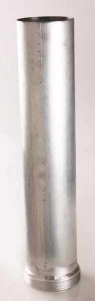 Rohr Ø 100 mit 4'' Außengewinde, 300-1000mm