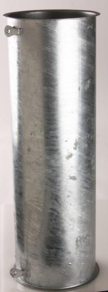 Rohr Ø150, 2x Erdungslaschen, 500 - 1000mm